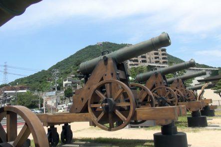砲台のレプリカ