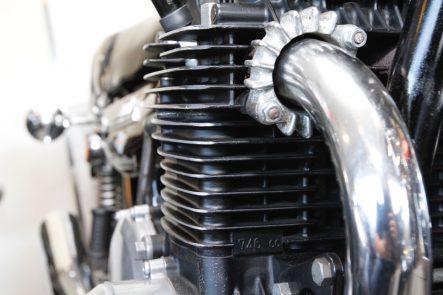 Z1エンジン 放熱フィン形状