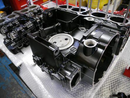 ウエマツでエンジンのフルオーバーホール時にオプション施工できるガンコート
