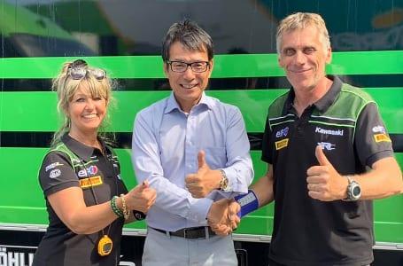 モトハウスがSRCカワサキフランスとコラボして、2019-2020世界耐久選手権に参戦