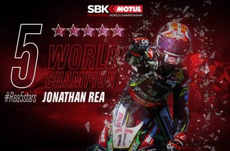 5 WORLD CHAMPION Jonathan Rea
