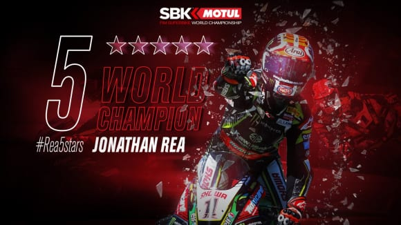 5 WORLD CHAMPION Jonathan Rea