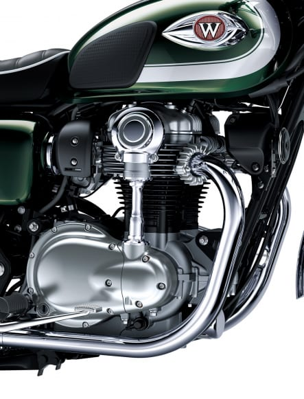 2020年モデル W800 エンジン
