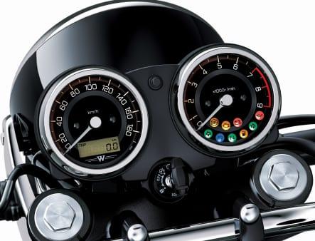 2020年モデル W800 メーター