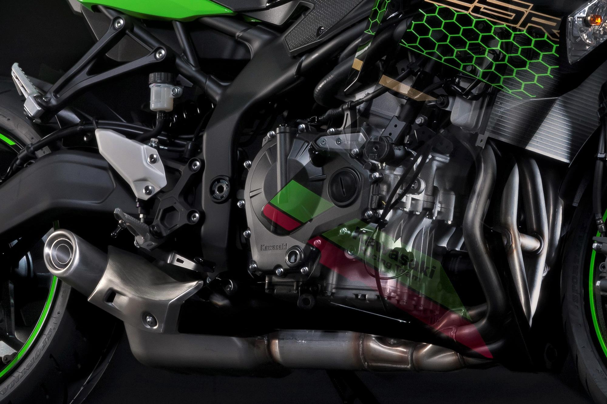 東京モーターショー2019 Ninja ZX-25R エンジン