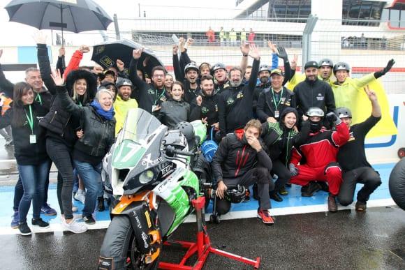 ライダーコラム・大久保 光 世界耐久チームITeM 17のメンバー