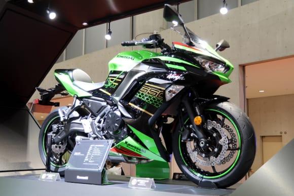 東京モーターショー2019 カワサキブース Ninja ZX-25R