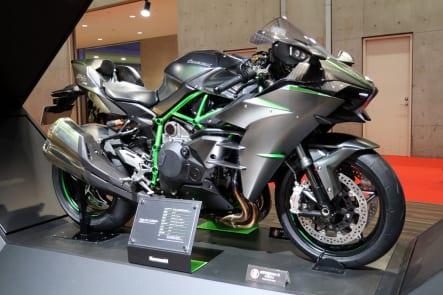 東京モーターショー2019 カワサキブース Ninja H2 CARBON