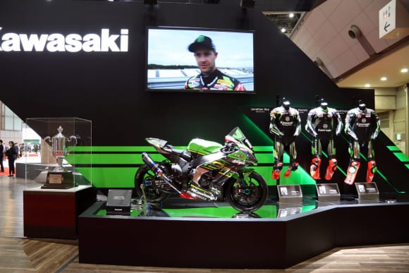 東京モーターショー2019 カワサキブース Ninja ZX-10RR 8耐レーサー
