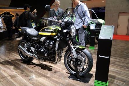 東京モーターショー2019 カワサキブース Z900RS