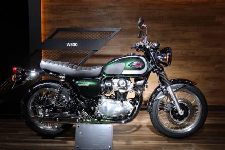 東京モーターショー2019 カワサキブース W800