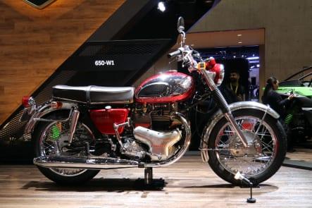 東京モーターショー2019 カワサキブース 650-W1
