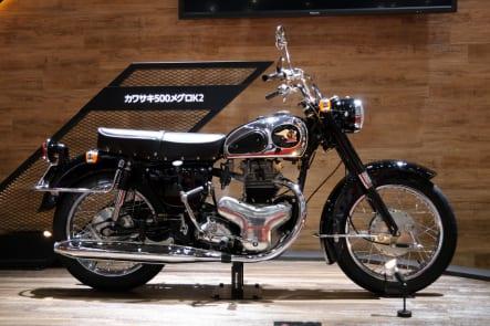 東京モーターショー2019 カワサキブース メグロ500K2