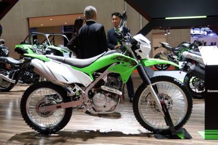東京モーターショー2019 カワサキブース KLX230