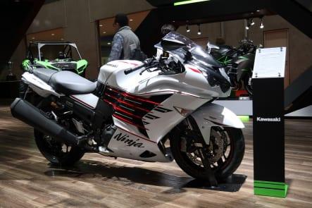 東京モーターショー2019 カワサキブース Ninja ZX-14R