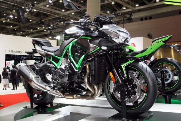 東京モーターショー2019 カワサキブース Z H2