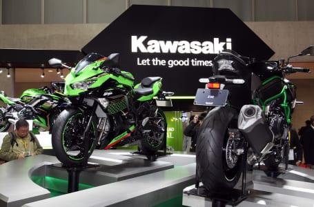 東京モーターショー2019 カワサキブース