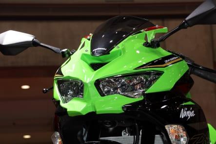 東京モーターショー2019 Ninja ZX-25R アッパーカウル