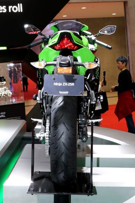 東京モーターショー2019 Ninja ZX-25R 背面