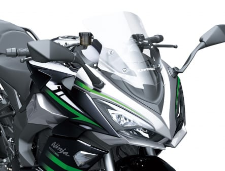 2020年モデル Ninja 1000SX スクリーン