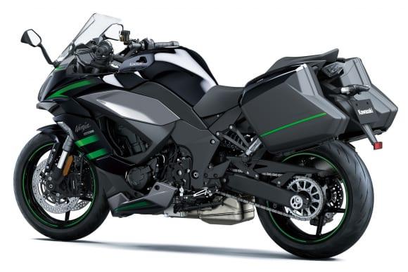 2020年モデル Ninja 1000SX パニアケース装着