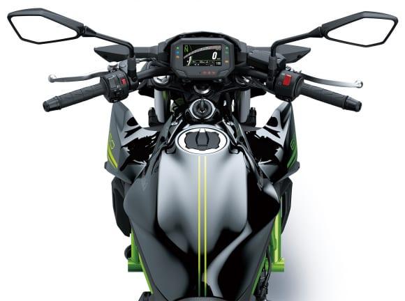 2020年モデル Z650 フロントまわり