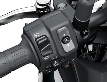 2020年モデル Z900 左ハンドルスイッチ
