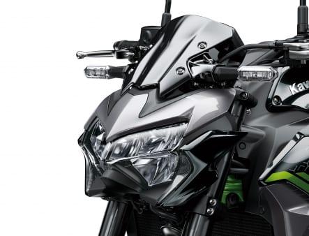 2020年モデル Z900 ヘッドライト