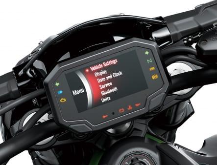 2020年モデル Z900 TFT液晶メーター