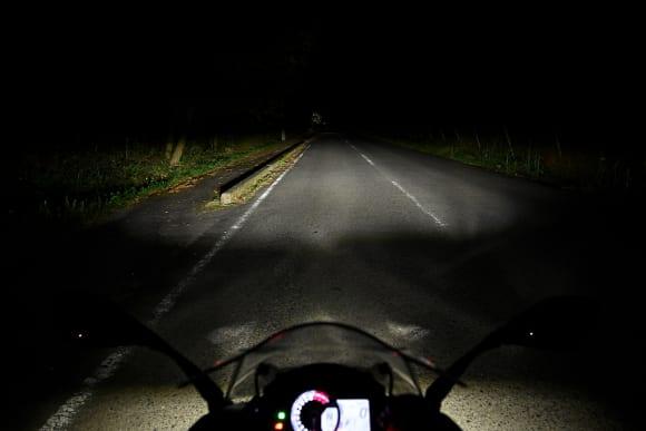 Ninja 1000 試乗インプレッション ヘッドライト
