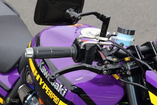 ZRX1200 DAEG by アクティブ ブレーキマスターシリンダー