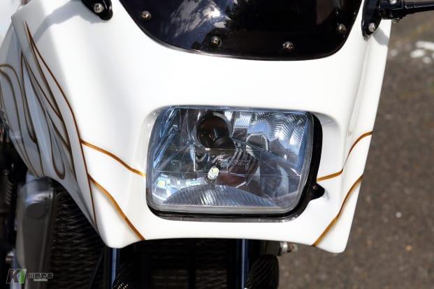GPZ900Rカスタム ヘッドライト