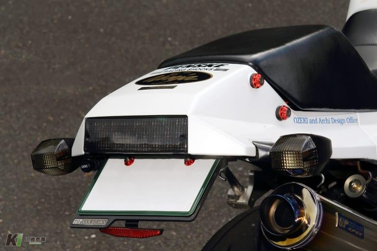 GPZ900Rカスタム テールランプ