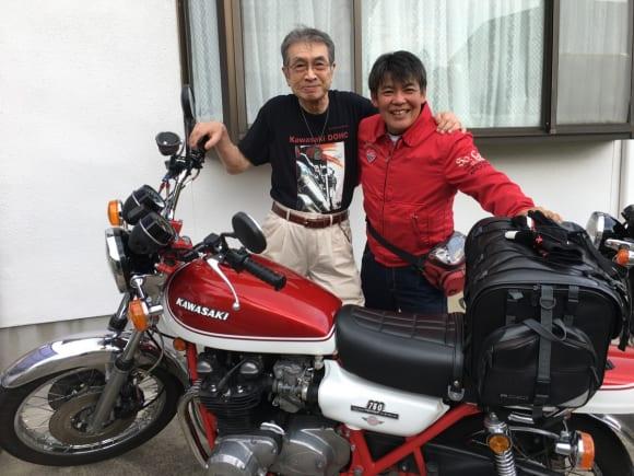 多田憲正氏とKAZU中西(筆者)