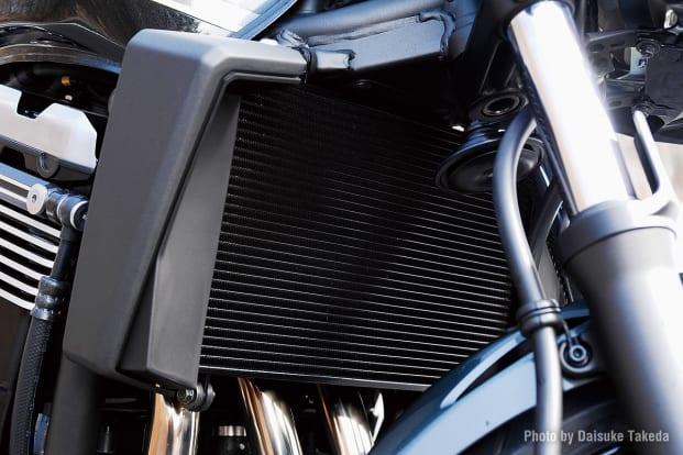 2009 ZRX1200 DAEG ラジエター