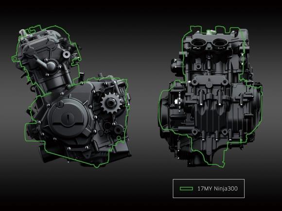 Ninja 400エンジン