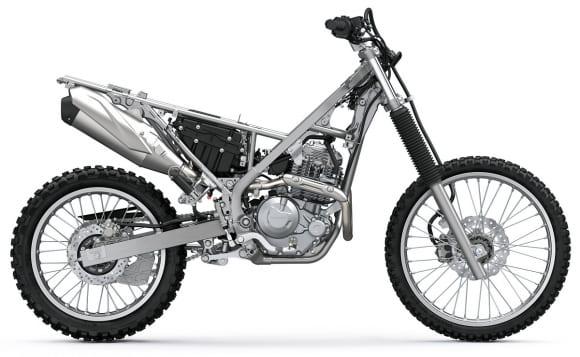KLX230/230R 車体