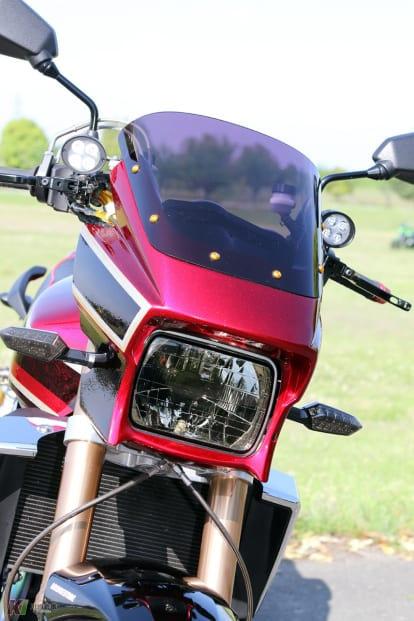 ZRX1200 DAEGカスタム ウインカーやテールランプ類