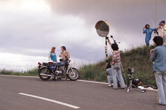 カワサキ車両撮影風景
