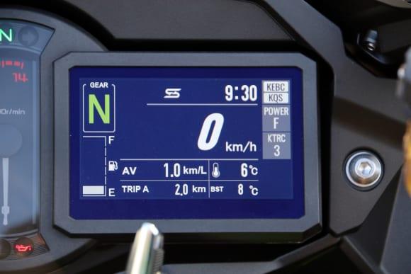 2019年モデル Ninja H2 SX SE TFT液晶メーター