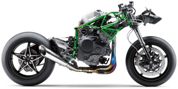 2019年モデル Ninja H2R ストリップ