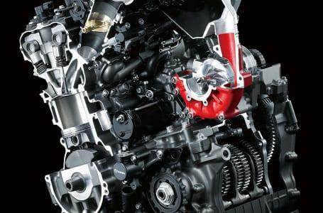Ninja H2Rエンジン