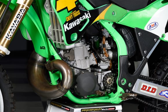 KX250SR(2001) エンジン