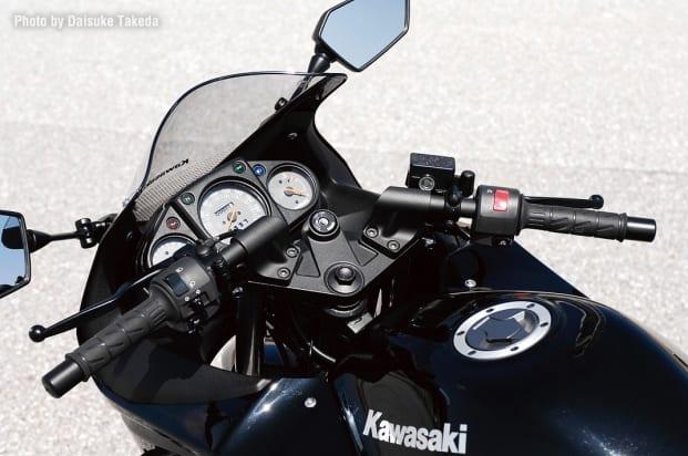2008 Ninja 250R(EX250K8F) セパレートハンドル