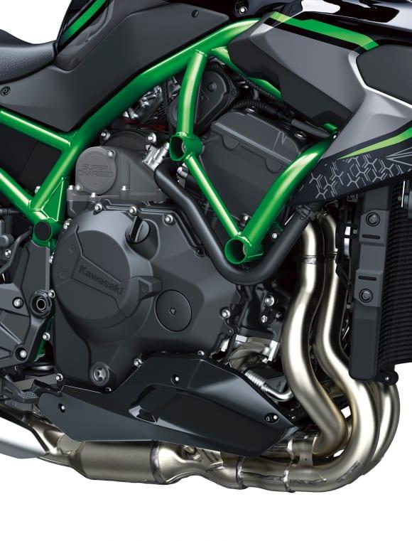 2020年モデル Z H2 エンジン右