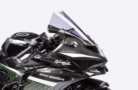 カワサキがNinja ZX-25Rのレーサーをイメージしたカスタムマシンを公開。ワンメイクレース開催も計画中