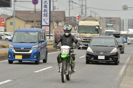 KLX230 シチュエーション別インプレッション〜市街地編〜