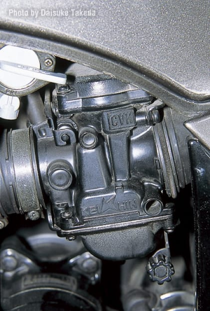 1984 GPZ900R キャブレター