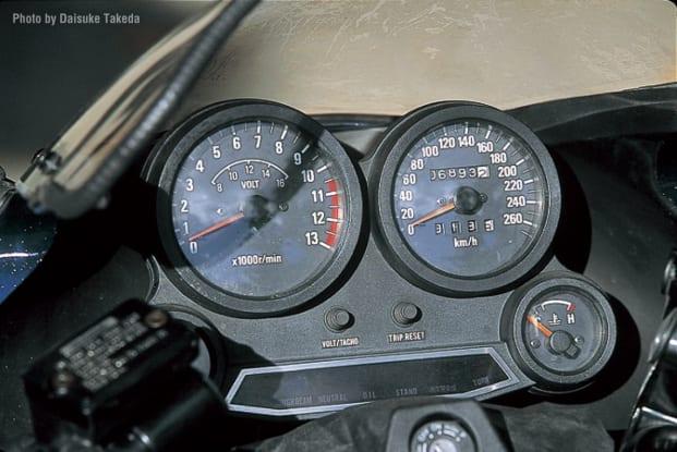 1984 GPZ900R メーター