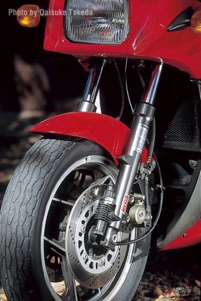 1985 GPZ750R フロントフォーク